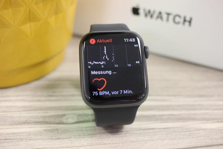 Apple Watch SE Herzfrequenzmessung