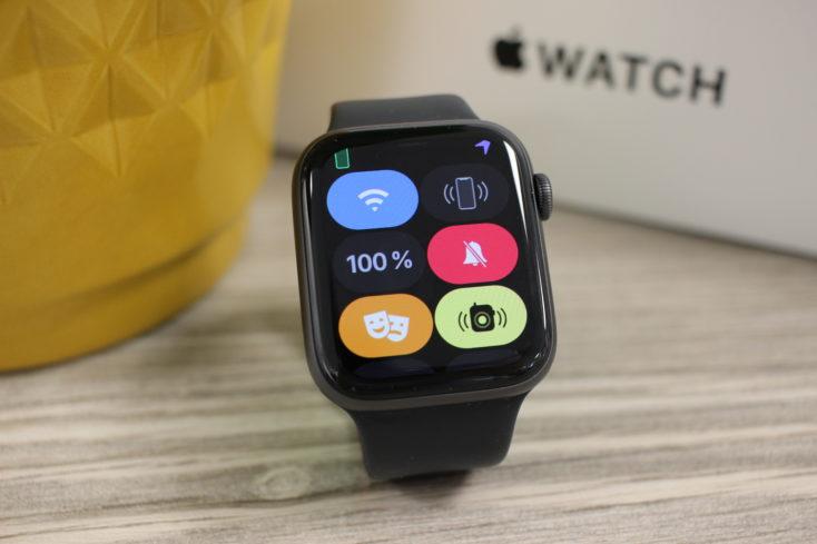 Apple Watch SE Kontrollzentrum