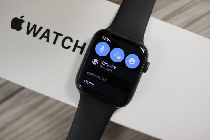 Apple Watch SE Nachrichten beantworten