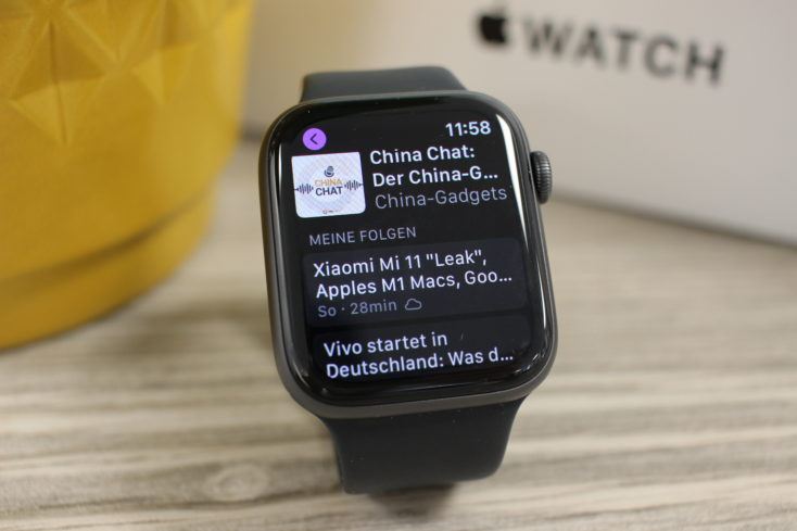 Apple Watch SE Podcasts
