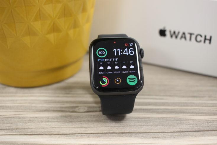 Apple Watch SE Watchface 1