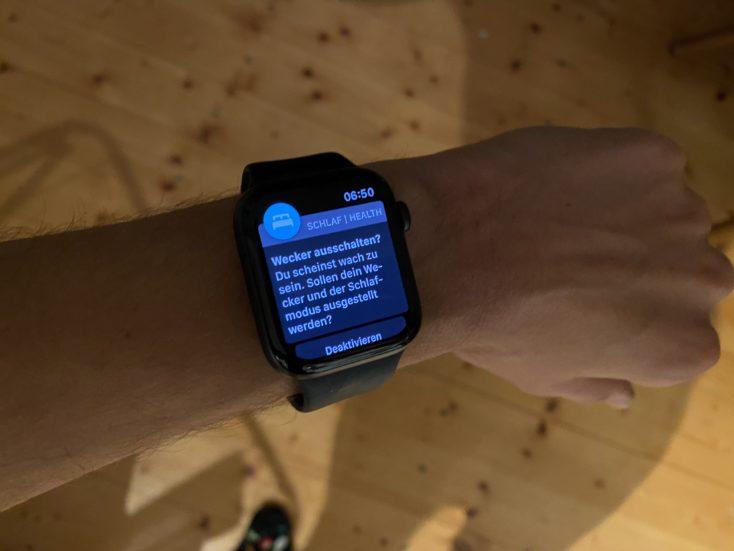 Apple Watch SE Wecker deaktivieren