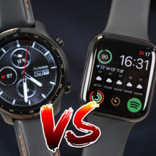 Apple Watch SE vs Ticwatch Pro 3 GPS