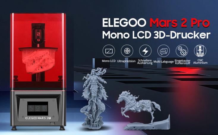 Elegoo Mars 2 Pro 3D Drucker