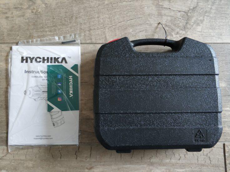HYCHIKA 36V SD 4C Akkuschrauber Lieferumfang