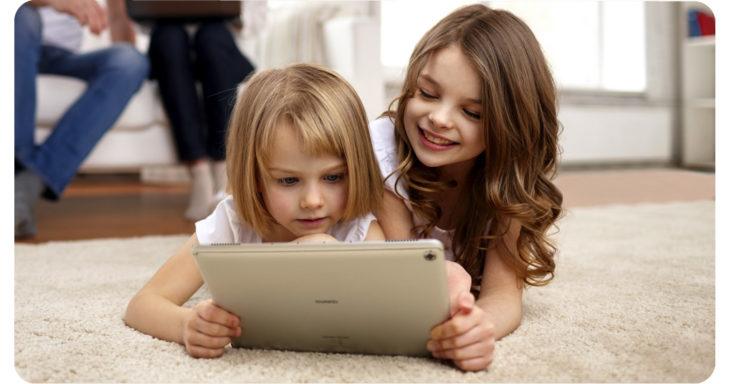 Huawei MediaPad M5 Lite Tablet Benutzung