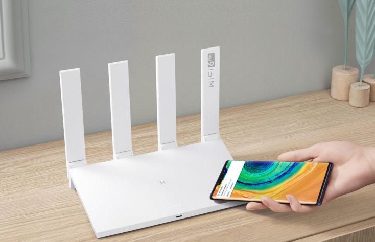 Huawei WiFi AX3 Router Verbindung