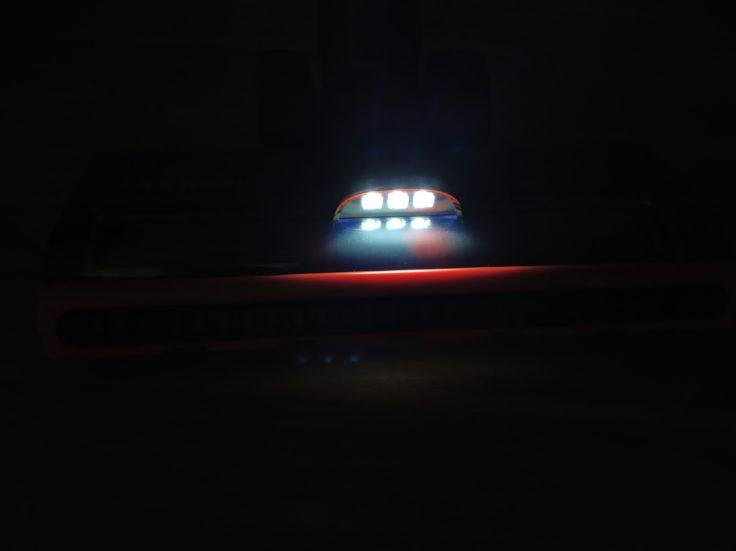 JASHEN V16 Akkustaubsauger LED-Leuchten