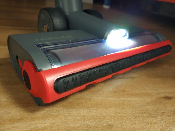 Jashen V16 Akkustaubsauger LED-Leuchten vorne