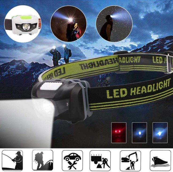 LED Stirnlampe Einstellungen