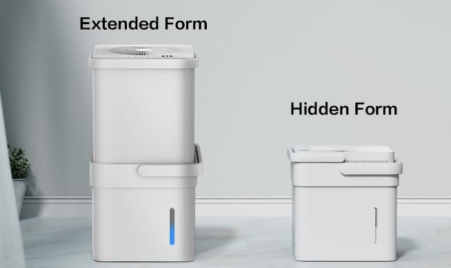 Midea Cube Luftentfeuchter Kanister Maße