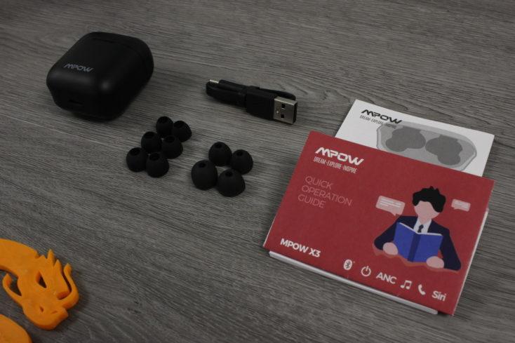 Mpow X3 Kopfhoerer Lieferumfang