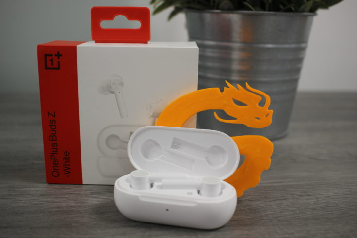 OnePlus Buds Z Kopfhoerer mit Verpackung