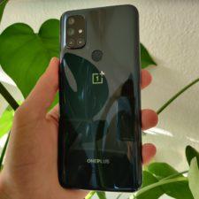 OnePlus Nord N10 Design