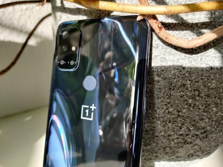 OnePlus Nord N10 Fingerabdrucksensor