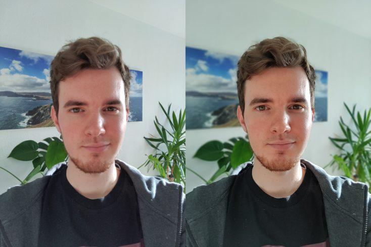 OnePlus Nord N10 Selfie Portrait