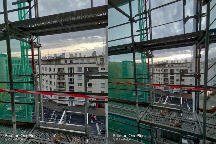 OnePlus Nord N10 normal vs ultraweit