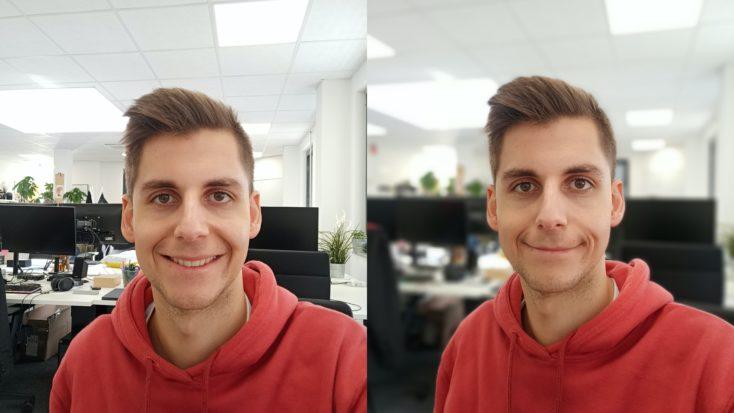 Realme 7 Frontkamera Testfoto