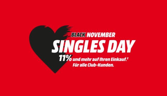 Singles Day MediaMarkt Banner