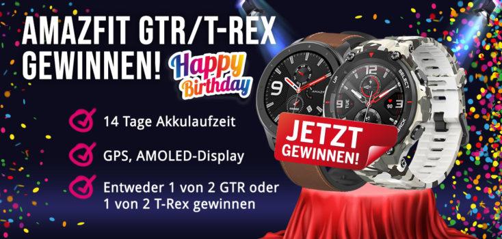 Tag 7 Amazfit GTR R-Rex Gewinnspiel Beitrag LP