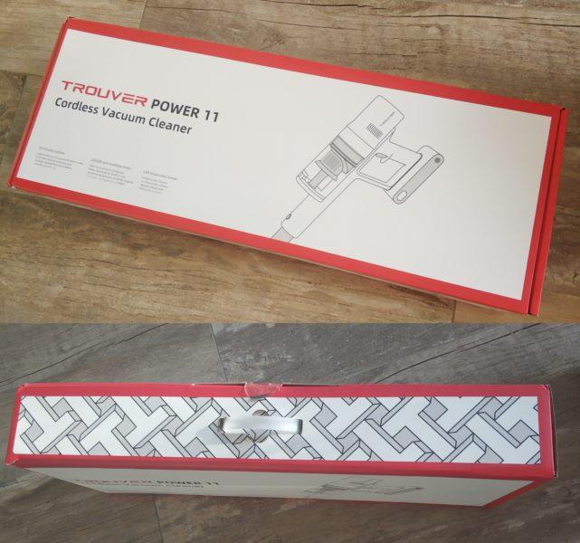 Trouver Power 11 Akkustaubsauger Verpackung
