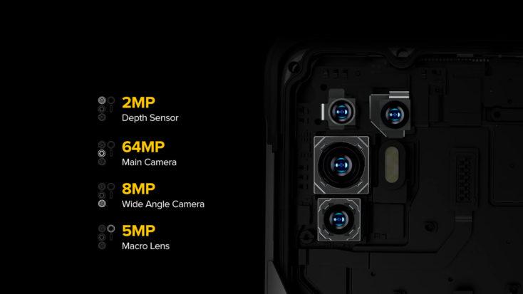 Ulefone Armor 10 5G Kamera