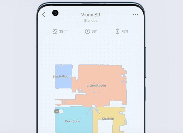 Viomi S9 Saugroboter App-Steuerung