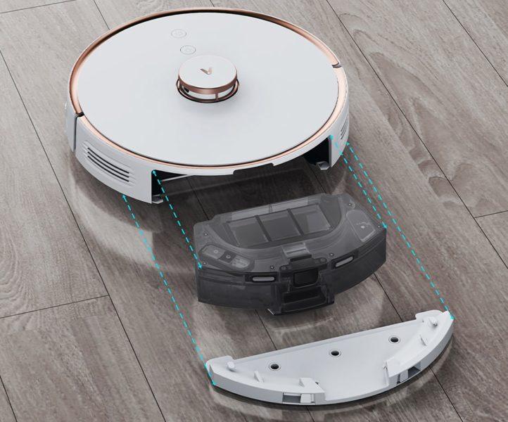 Viomi S9 Saugroboter Wischfunktion Wassertank