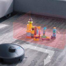 360 S7 Pro Saugroboter No-Go-Zonen virtuelle Waende