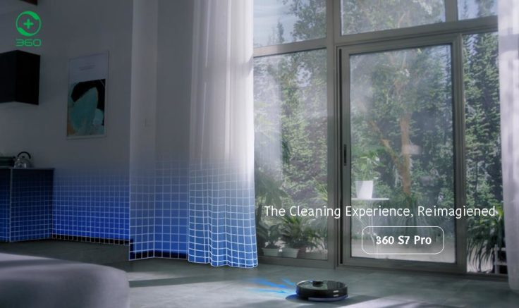 360 S7 Pro Saugroboter Raumerkennung selektive Raumeinteilung