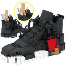 AliExpress Klemmbaustein Sneakers schwarz