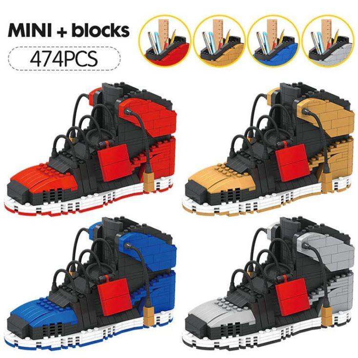 AliExpress Klemmbaustein Sneakers verschiedene Farben