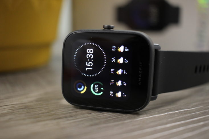 Amazfit Bip U Smartwatch Display 2
