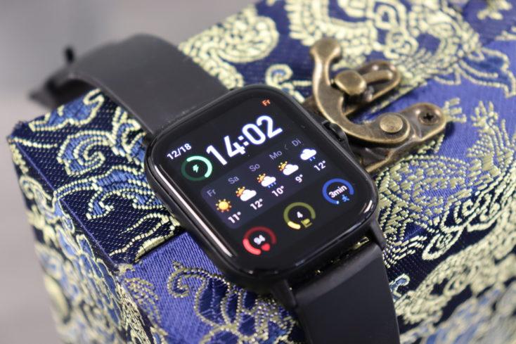 Amazfit GTS 2 Smartwatch Design