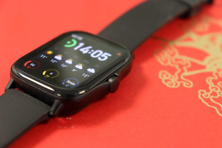 Amazfit GTS 2 Smartwatch Funktionstaste 2