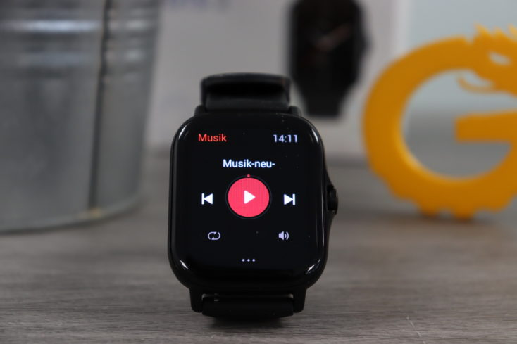Amazfit GTS 2 Smartwatch Musikplayer