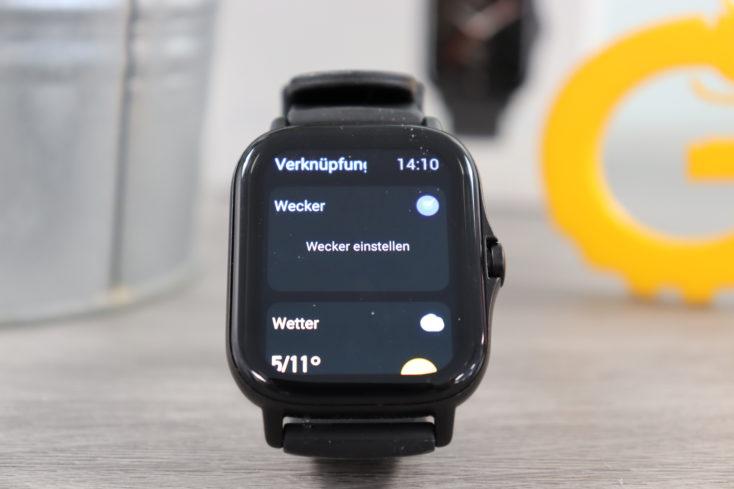 Amazfit GTS 2 Smartwatch Verknuepfungen