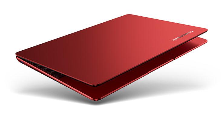 DERE R9 Pro Notebook rot zugeklappt