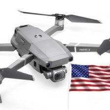 DJI Mavic 2 Drohne Kamera USA Handelsverbot