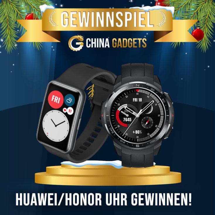 Honor Watch GS Pro und Watch Fit Smartwatch Gewinnspiel