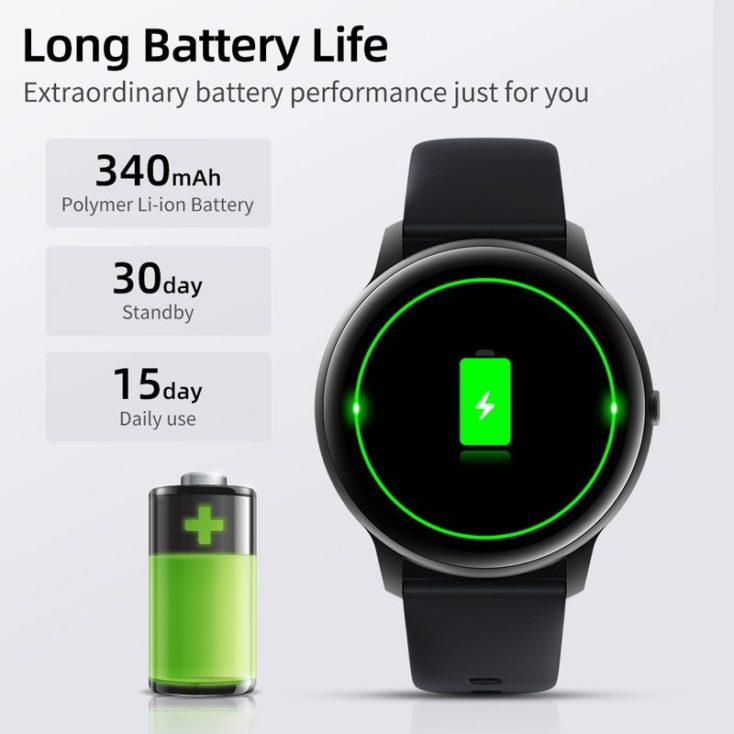 Imilab KW66 Smartwatch Akkulaufzeit
