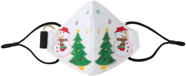 LED Maske Weihnachtsstil