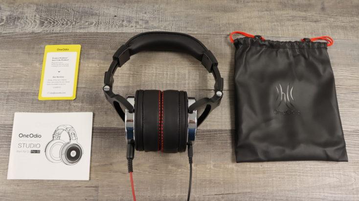OneOdio Studio Pro 50 Kopfhoerer Lieferumfang