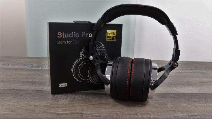 OneOdio Studio Pro 50 Kopfhoerer mit Verpackung