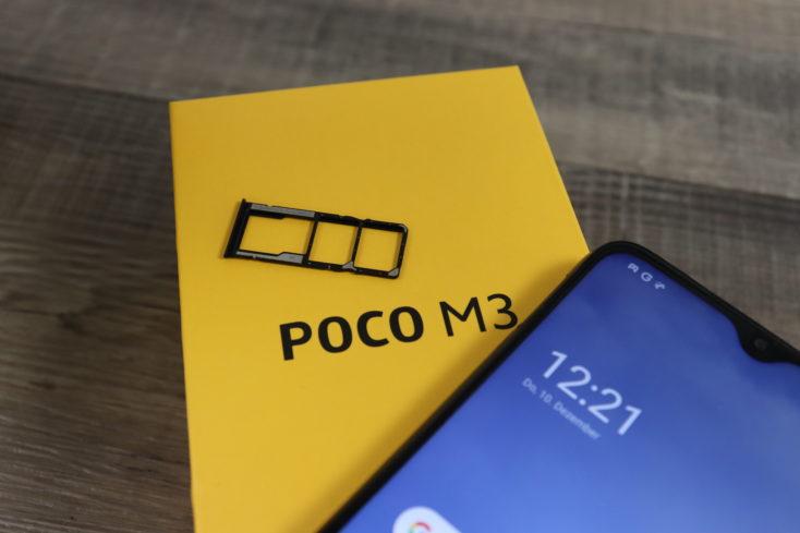 POCO M3 SIM Slot