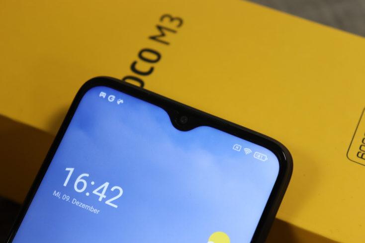 POCO M3 Smartphone Notch