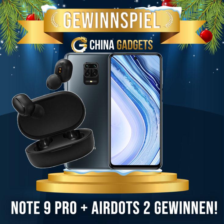 Redmi Note 9 Pro gewinnspiel Advent 4