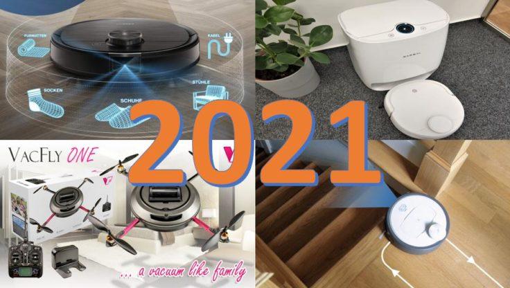 Saugroboter Jahresausblick 2021 China Gadgets