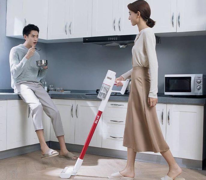 Trouver Solo 10 Akkustaubsauger Werbung