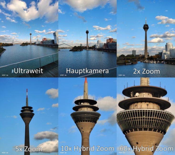 Vivo X51 5G Alle Brennweiten Kameras